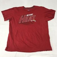 🌴NBA Miami Heat Men's L Large Red Short Sleeve Graphic T-Shirt🌴