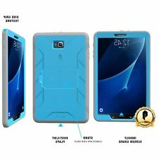 POETIC Samsung Galaxy Tab A 10.1 Shockproof Rugged Case w/ Built-In Screen 3Blue