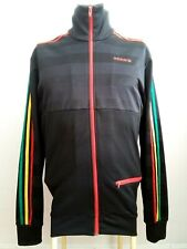 Adidas Rasta Jamaica  Rare Retro Vintage Track Jacket M / Bob Marley Firebird