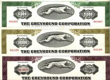 RARE GREYHOUND BONDS! BLUE or PURP $1k (BIN PRICE) GRN $5k OLIVE $10k PURP $25k