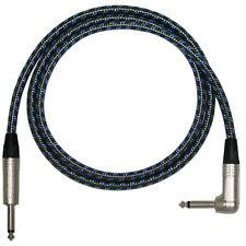 Vintage PRO Electric Guitar Lead. 1/4 inch Mono Neutrik Jacks 2m, 3m, 5m Cable