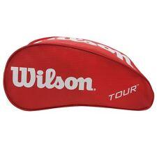 WILSON TOUR TENNIS SCHUHE TASCHE,ROT . GRÖßE FÜR GOLF RUGBY FUßBALL