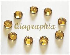5x 1440 Pcs (50 gross) DMC Hotfix Crystal Rhinestones Light Topaz SS10, SS10D