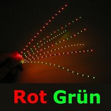 S492 Mini LED Lichterkette rojo / Verde Sólo 1,4mm ESTRECHO Feria Disco la