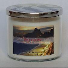 Bath & Body Works Rio Glow - Sizzle & Samba 3-Wick Filled Candle 14.5 oz