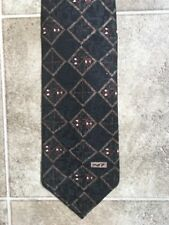 BOEING 747 Mens Neck Tie Black. Made In Usa With 100% Imported Silk. Rn 78633