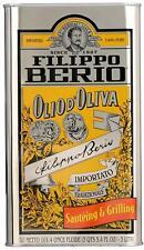 Filippo Berio 100% Pure Olive Oil (3 liter tin)