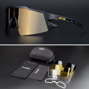 Polarized Cycling Sunglasses Outdoor Sport Mountain Bike Glasses UV400 Eyewear