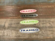 4 Trango Logo Stickers Pink Silver Blue Green White Awesome Stickers!