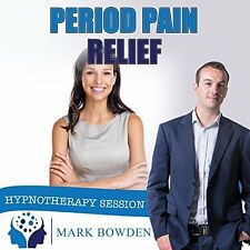 Period Pain Relief Hypnosis CD + FREE MP3 VERSION ease menstrual discomfort