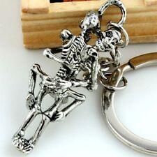 Creative Alloy Skeleton Gift Handbag Accessories Key Chain Key Holder Key Ring