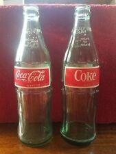Vintage Coca-Cola bottles half liter