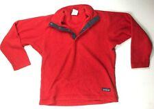 Patagonia Marsupial Fleece Pullovre Kid'S Med(10) Red