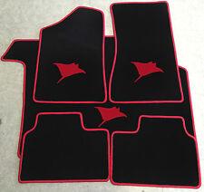 Autoteppich Kofferraummatte Set für Opel Manta B Rochen rot Neuware 5teilig