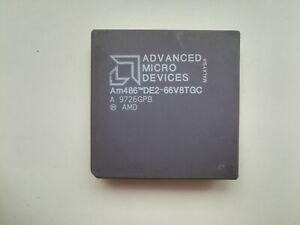 AMD Am486 DE2-66V8TGC Vintage CPU, GOLD