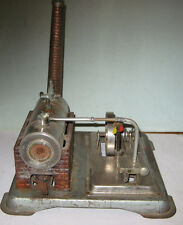 Jensen 65 Live Steam Engine w/ piston valve USA made all Brass chromed steel