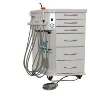 Greeloy Mobile Dental Delivery System Air Compressor GU-P211 118L/min 2H
