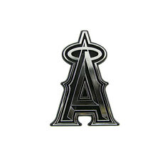 New MLB Los Angeles Angels 3-D Chrome Plastic Auto Car Truck Emblem Made in USA