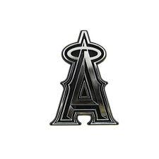 New MLB Los Angeles Angels 3-D Chrome Plastic Auto Car Truck Emblem Made in USA