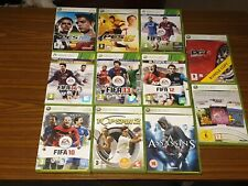 Joblot of 11 untested Xbox 360 games