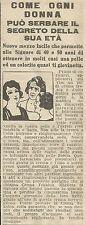 W8052 Crema TOKALON per il viso - Pubblicità 1926 - Advertising