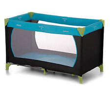 NEW HAUCK WATER BLUE DREAM N PLAY BABY TRAVEL COT / PORTABLE PLAYPEN