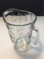 "Anchor Hocking Savannah 9 3/4"" Tall  Ice Tea Pitcher"