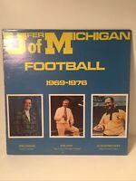 "BOB UFER ""UFER FOR UNIVERSITY OF MICHIGAN FOOTBALL"" LP; 1969-1976 HILIGHTS"