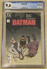 """BATMAN #404 (1940) CGC 9.6 """"Year One"""" Begins !!"""