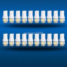 20x T10 5050 W5W 5 SMD 194 168 LED White Car Side Wedge Tail Light Lamp Bulbs US