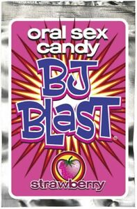 Pipedream BJ Blast Oral Sex Candy Strawberry