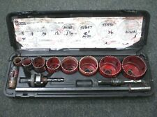 Morse Maintenance Master Cobalt Bi-Metal Hole Saw Kit Av100
