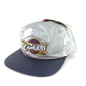 Men's Mitchell & Ness Cleveland Cavaliers Cavs Tyvek Blue Snapback Hat NWT