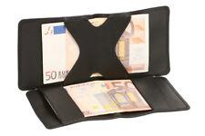 Zauber und Magier Geldbörse Portmonee für jung alt LEAS in Echt-Leder, schwarz