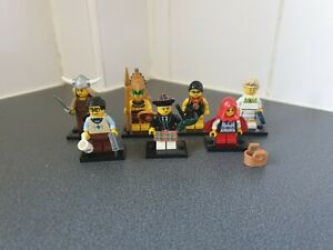 LEGO SERIES 7 MINIFIGURE BUNDLE X 7