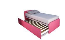 964R Letto cameretta 80x190 design personalizzabile con secondo letto estraibile