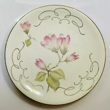 "VINTAGE WUNSIEDEL BAVARIA PORZELLAN SANDWICH PLATE FLOWERS ORNATE 8"" (2331)."