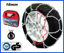 Catene da Neve Power Grip 9mm Gruppo 90 per pneumatici 205//65r15 BMW Serie 7 E32