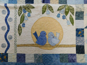 My Blue Heaven quilt pattern by Therese Hylton