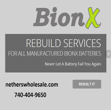 Rebuild service for Trek Valencia Bionx E-Bike battery