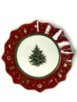 Villeroy & Boch Toy's Delight Set Of Four Salad Plate Red