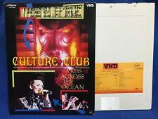 Culture Club A Kiss Across The Ocean Japan VHD Video Disc VHM 58045 Boy George