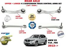 FOR BMW X5 F15 F85 2013->NEW REAR 2X UPPER 2X LOWER SUSPENSION CONTROL ARMS