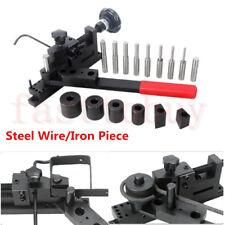 Manual DIY Metal Bar Tube Pipe Bending Bender Machine Curved Wire Steel Plate