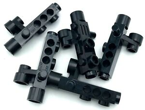 Lego 5 New Black Minifigure Utensil Cameras with Side Sight Space Gun Pieces