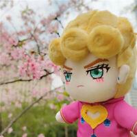 """JoJo's Bizarre Adventure Giorno Giovanna Plush Stuffed Doll Clothes Removable 8"""""""