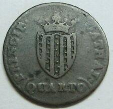 SPAIN 1813 CATALONIA QUARTO FERDINAND VII COLONIAL SPANISH COPPER COIN