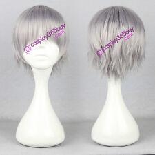 Katekyo Hitman Reborn! Gokudera Hayato cosplay wig natsume yuujinchou wig short