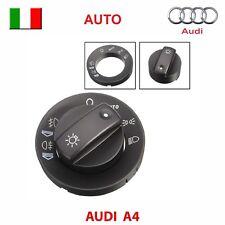 KIT RIPARAZIO devioluci interruttore AUDI A4 S4 8E B6 B7 comando luci tasto AUTO