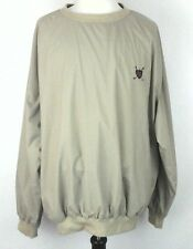 POLO Ralph Lauren Jacket Pullover Windbreaker GOLF Brown Shirt Men's L $139